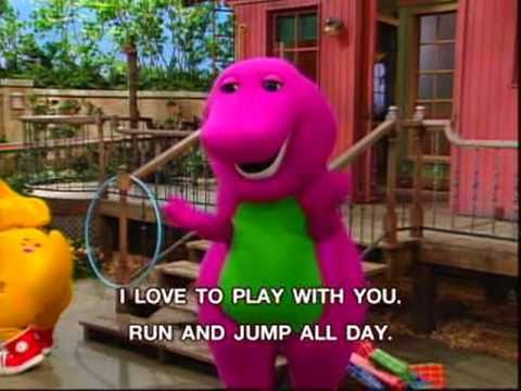 Barney - Lets Play Together Song