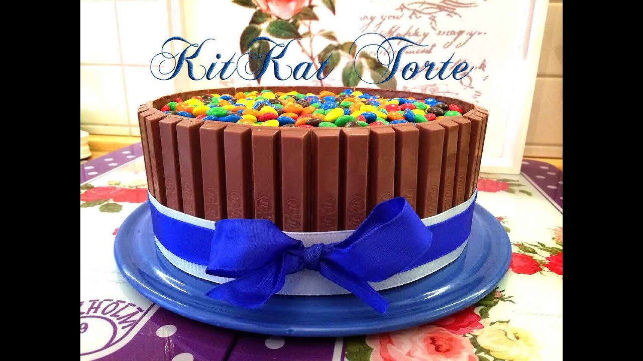Kitkat Torte Candy Cake Youtube