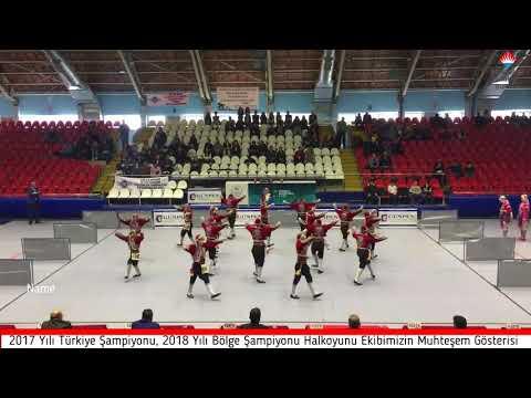 Burdur Bahçeşehir Koleji 2018 Halkoyunları Bölge Şampiyonluk Gösterisi
