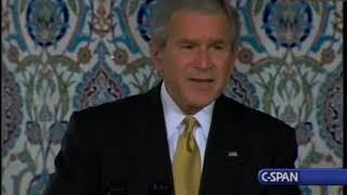 President Bush at Islamic Center of Washington Rededication Ceremony in 2007