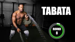 """Tabata Workout w/ Osayi Osunde - """"Rocky"""" Tabata Song & Timer"""