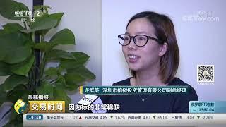 《交易时间(下午版)》 20190802  CCTV财经