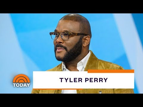 Tyler Perry Takes TODAY On A Tour Of His Studio And Talks About His New Film | TODAY