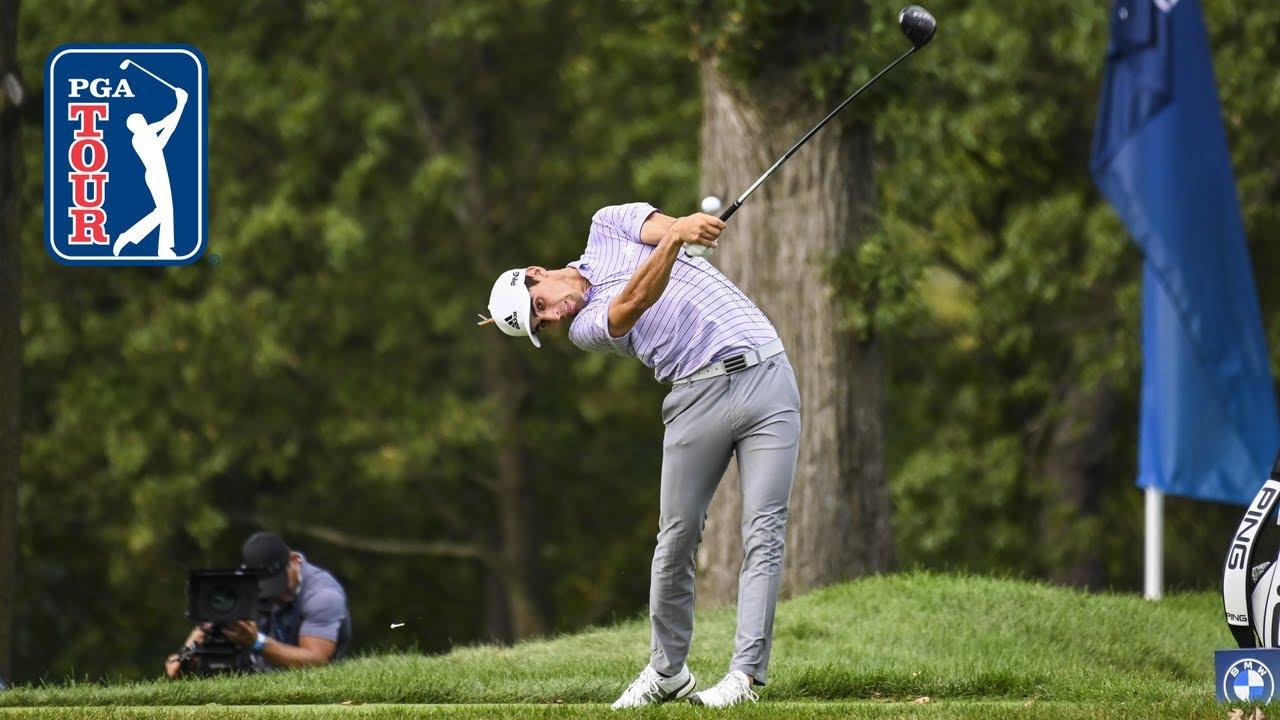 Breakdown of Joaquin Niemann's golf swing