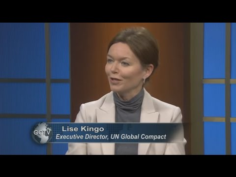 Global Connections TV - Interview with Lise Kingo