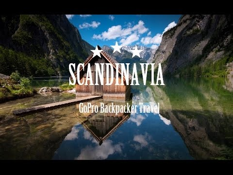 SCANDINAVIA | Backpacking (Denmark, Sweden, Norway) | GoPro Hero 4 1080p HD