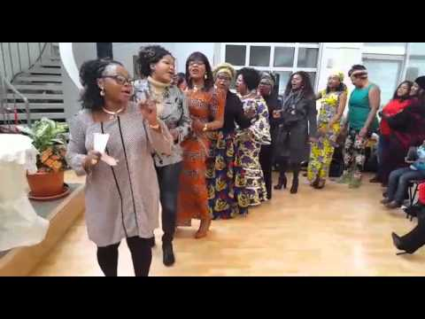 Choral des maman église bon dieu à Mulhouse  part1
