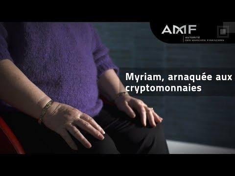 Arnaques aux cryptomonnaies, le témoignage de Myriam   #ArnaquesParlonsEn