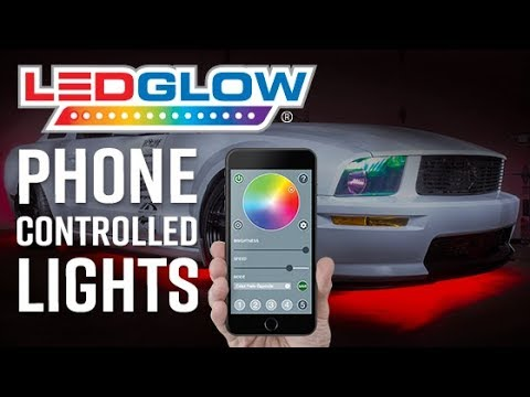 LEDGlow   Phone Controlled Lights