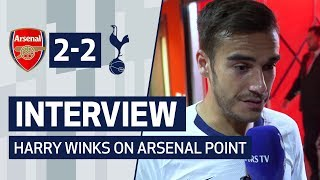 INTERVIEW | HARRY WINKS ON ARSENAL POINT | Arsenal 2-2 Spurs