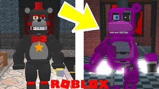 *NEW* Withered Mr Hippo, Rockstar Foxy, Lefty, And More! Roblox FNAF 6 Lefty's Pizzeria Roleplay