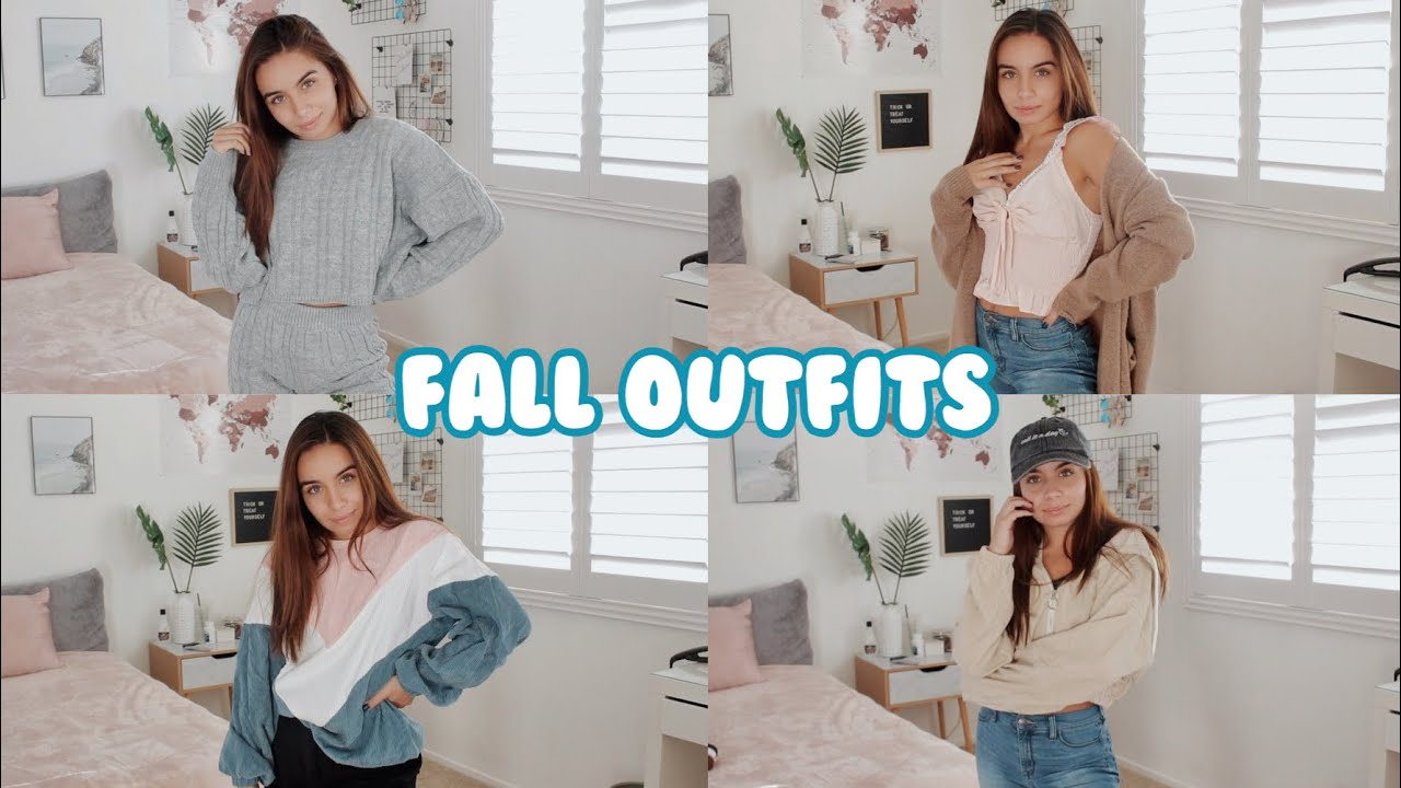 [VIDEO] - Some Of My Cute/Trendy Fall Outfit Ideas 8