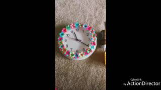 Diy for old clock for wonderful look easily and very cheap