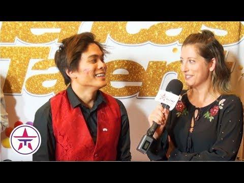 America's Got Talent: Shin Lim Gets KISSED By Heidi Klum & Explains How He Met Fiancé ❤