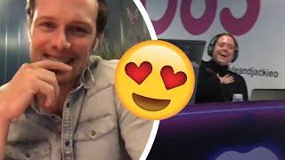 Download Sam Heughan makes Aussie super fan blush 😍