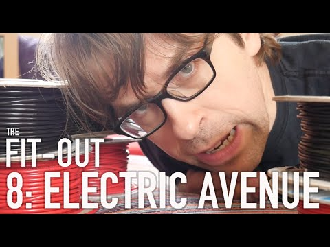 The Narrowboat Fit Out – 8: Electric Avenue (12 Volt Electrical Adventures)