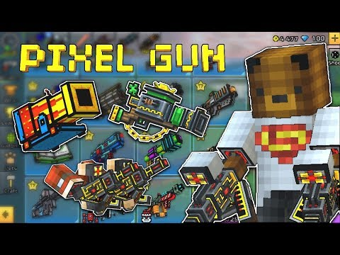 HUGE NEW PIXEL GUN 3D UPDATE 14.0.0 (New Guns, Reskins And Sniper Tornament)