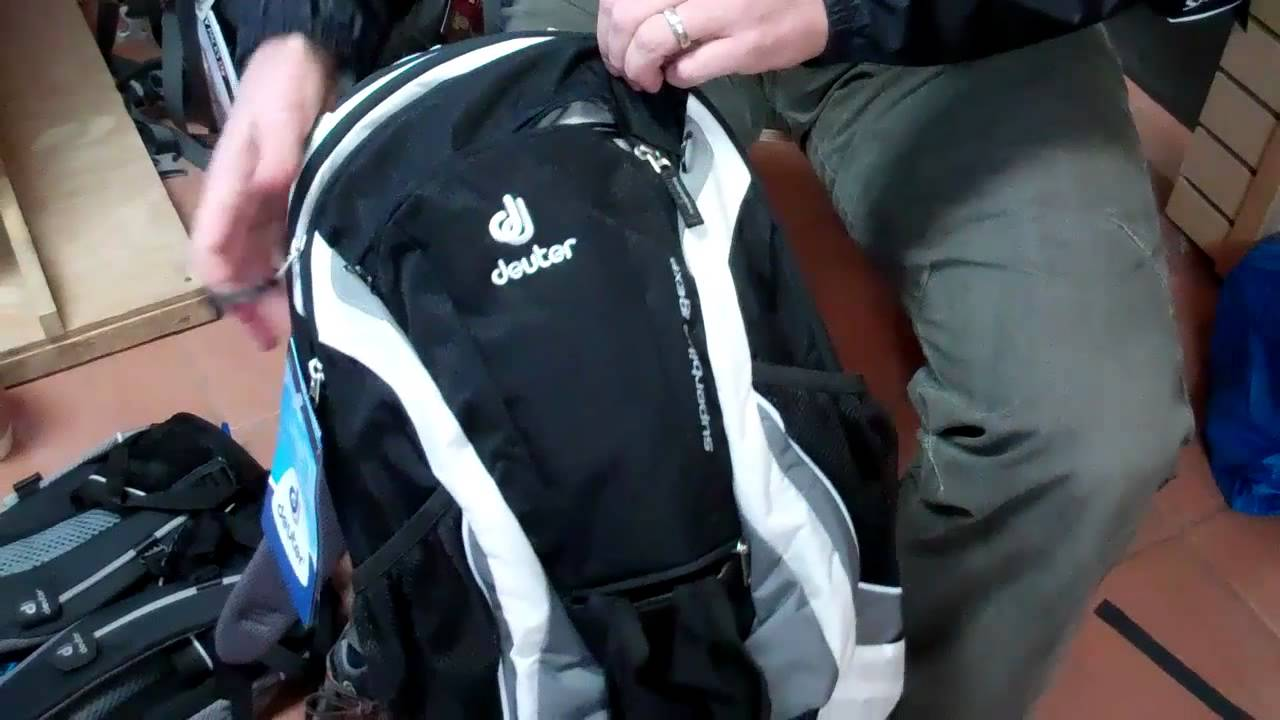 bce0ac8d87 Deuter Superbike 18 EXP Pack Overview - YouTube