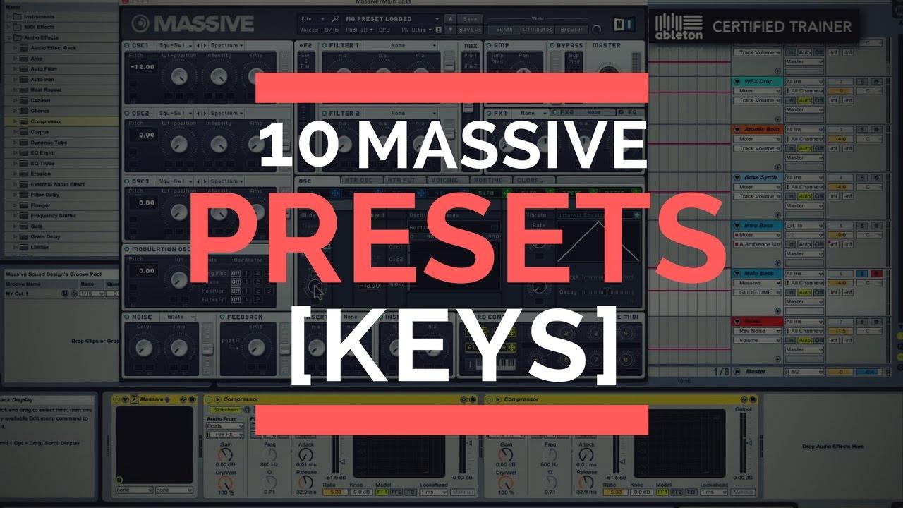 10 MASSIVE PRESETS [KEYS] [ED 1]