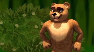 ҚАЗАҚША ЕРТЕГІЛЕР - Уш Аю. Мультфильм. Три медведя - мультфильм
