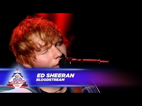 Ed Sheeran - 'Bloodstream' - (Live At Capital's Jingle Bell Ball 2017)