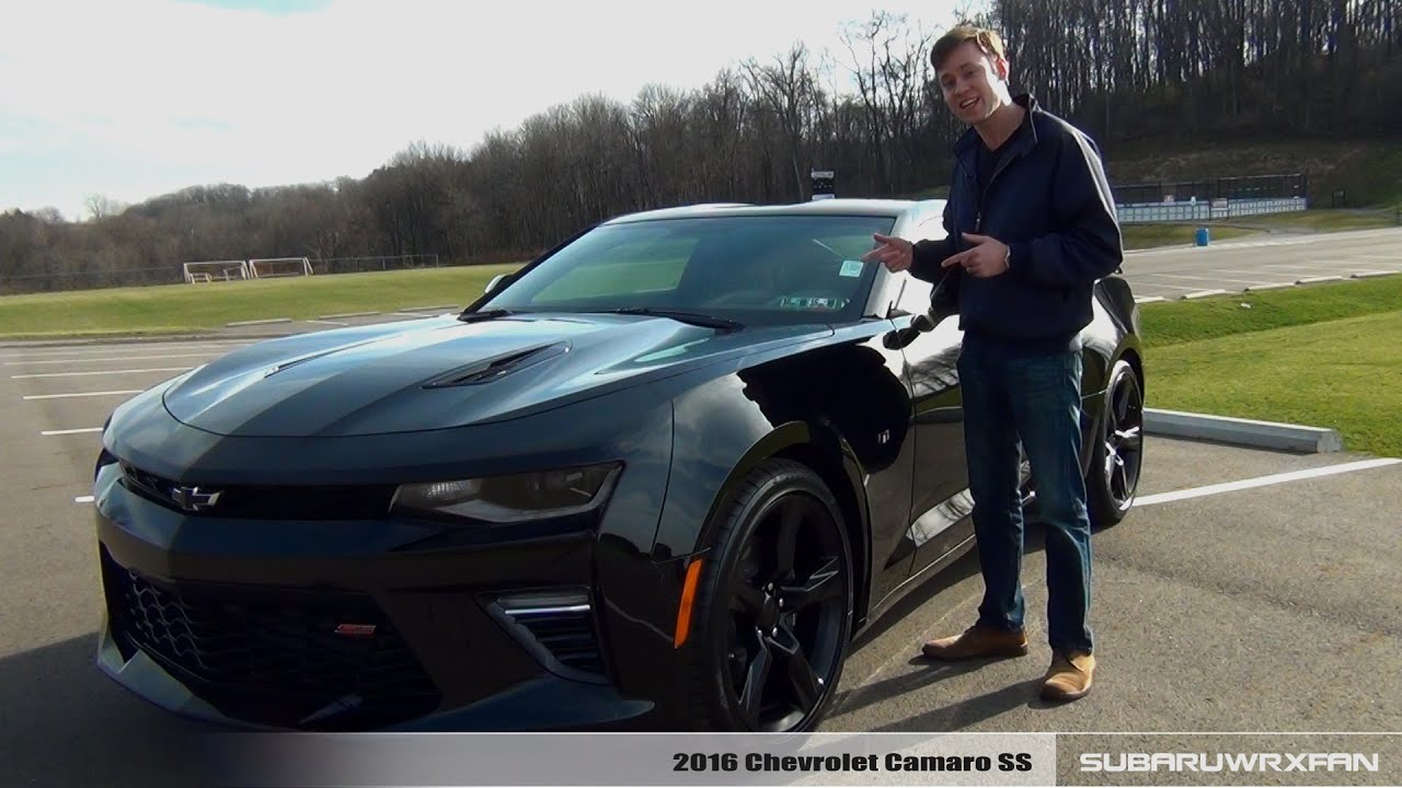 Review: 2016 Chevrolet Camaro SS (Manual and Auto) - YouTube