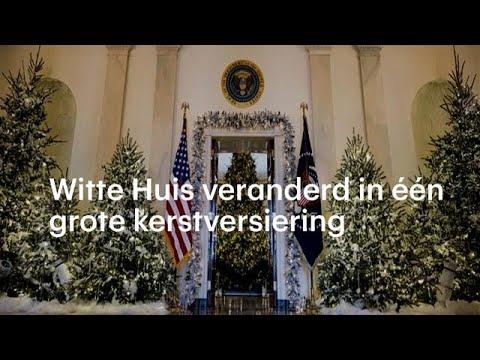 Melania verandert Witte Huis in één grote kerstversiering - RTL NIEUWS