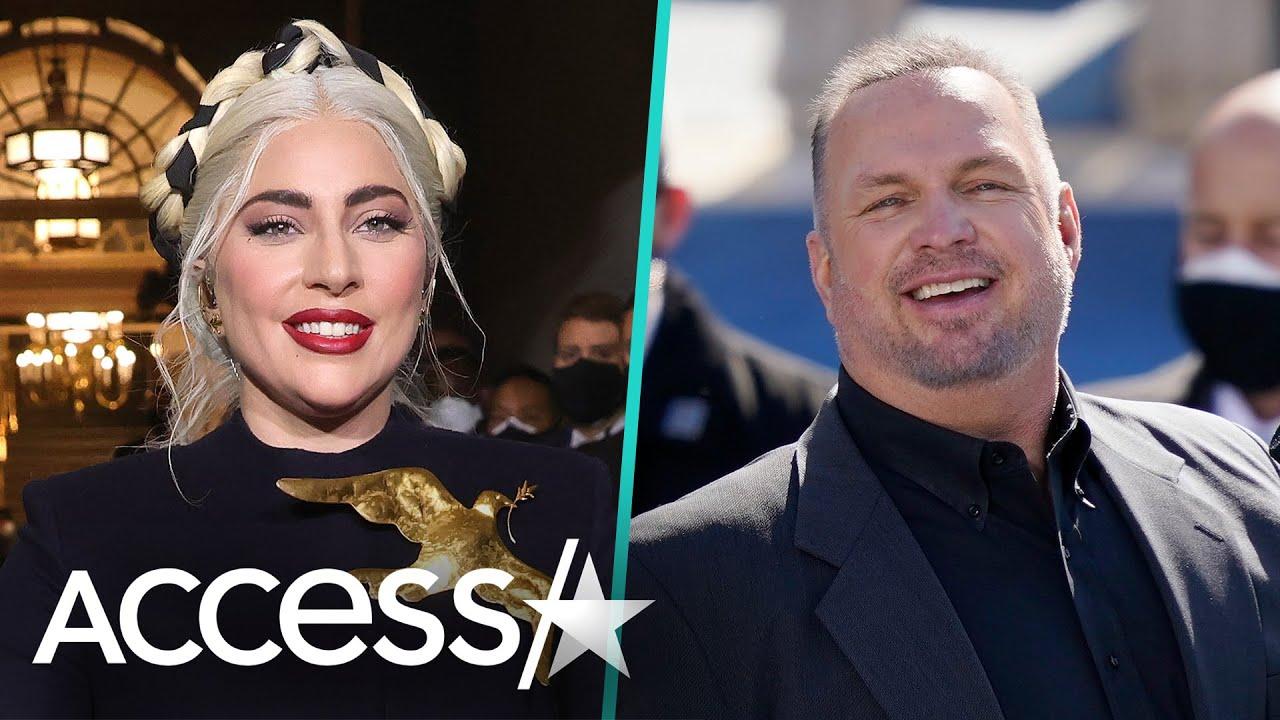 Lady Gaga's Glam Team 'Saved' Garth Brooks On Inauguration Day