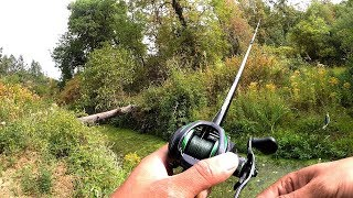 Catching Bass on Swim Jigs (Exploring New Area)