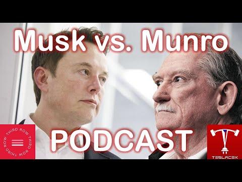 #164 PODCAST#1 Sandy Munro a Elon Musk v 3rd row | Teslacek
