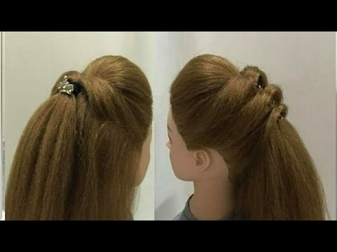4 Easy Puff Hairstyles Most Beautiful Hairstyles Youtube