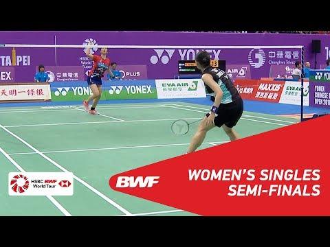 SF | WS | TAI Tzu Ying (TPE) [1] vs Soniia CHEAH (MAS) [7] | BWF 2018