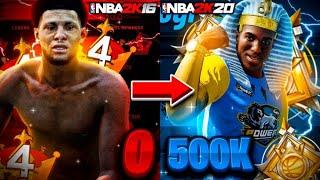 The Evolution of Power DF • 0 to 500K Subscribers | NBA 2K16 - NBA 2K20