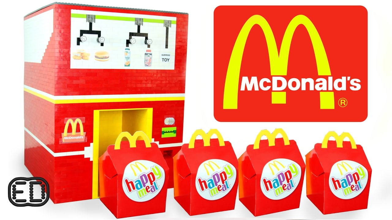 The Lego Mcdonalds Happy Meal Maker Chicken Nuggets Hamburgers Surprise Toy