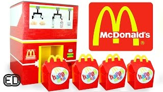 The LEGO McDonald's Happy Meal Maker   Chicken Nuggets, Hamburgers & SURPRISE Toy thumbnail