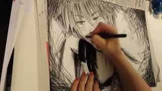 come disegnare Usui Takumi di Maid Sama - how to draw Usui Takumi from Maid Sama