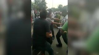 Woman hits traffic cop in Delhi; stopped for not wearing helmet