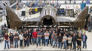 Spaceship Co. attaches feather system to next SpaceShipTwo