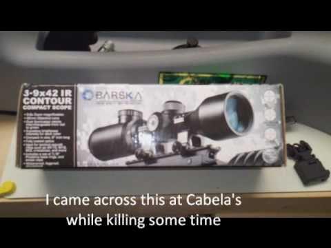 Barska Contour 3-9 Tactical meets Stag Model 8