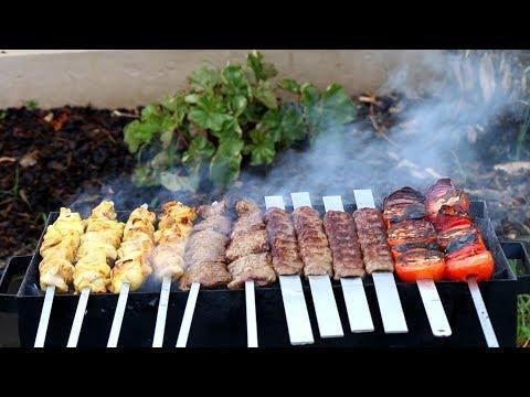 Joojeh Kabab Koobideh Kabab Barg Recipe Persian Kebabs