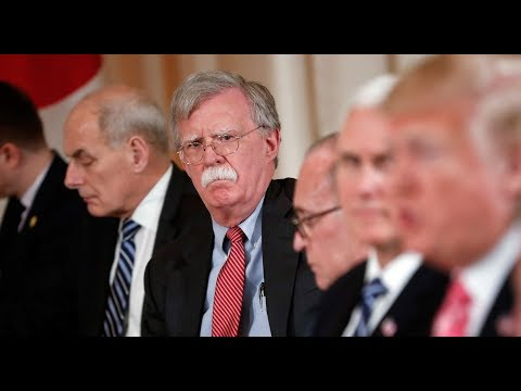 John Bolton Asked For Plans To Attack Iran