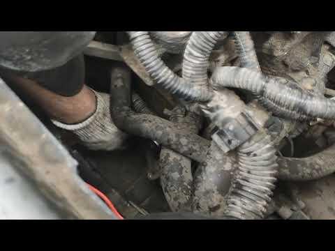 Замена фазорегулятора Renault Megane