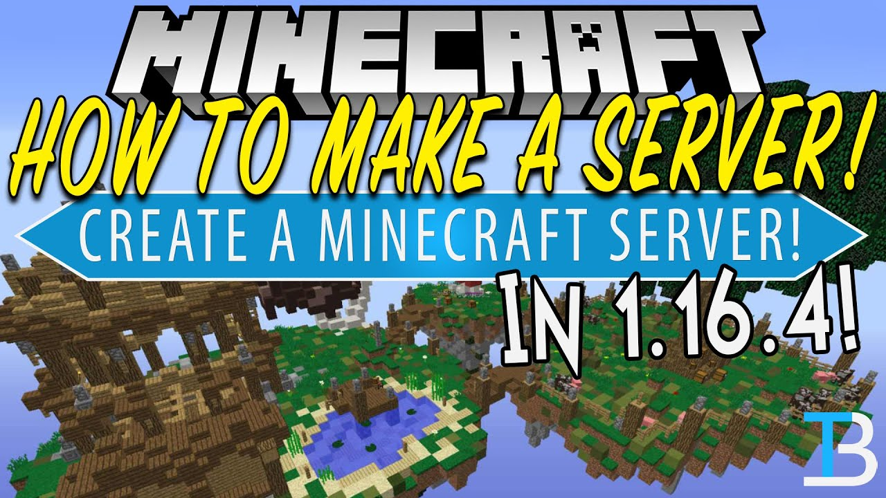 How To Make A Minecraft 20.206.20 Server (Create Your Own Minecraft Server in  20.206.20!)