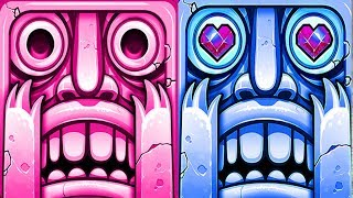 Temple Run 2 Lost Jungle Lantern Festival VS Frozen Shadows Android iPad iOS Gameplay HD