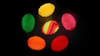 3d origami Easter egg 1 tutorial | DIY paper Easter egg