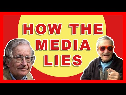 Manufacturing Consent: How the News Media Distorts Reality // Noam Chomsky & Michael Parenti Summary