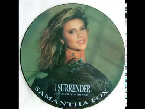 Samantha Fox  I Surrender  Unreleased  Promo Version