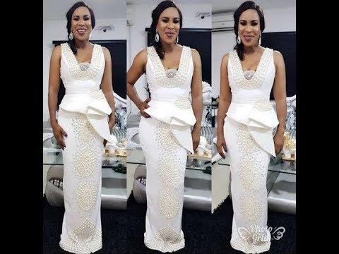 Faithia Balogunu0027s Stunning Look At Pasumau0027s All White 50th Birthday Party  Got Every-One Taking