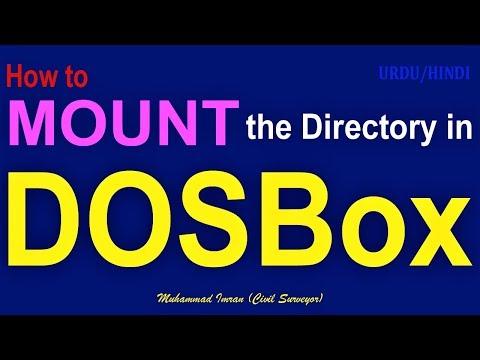 How To Mount Directory In DOSBox
