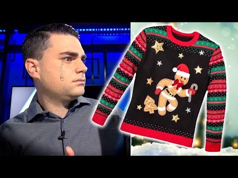 Daily Wire Writer OUTRAGED by Gingerbread Cookie Christmas Sweater